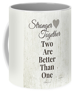 Two Are Better Than One- Art By Linda Woods Coffee Mug