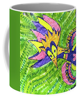Two Beaked Rainbow  Shrieker Coffee Mug