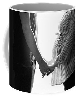 Coffee Mug featuring the photograph Two Becomes Three by Kelly Hazel