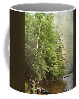 Two Birches Coffee Mug