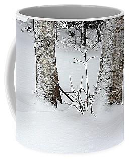 Two Birches Coffee Mug