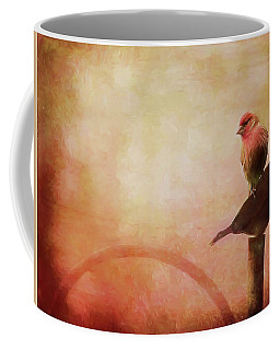 Two Birds In The Mist Coffee Mug