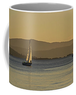 Two Boats Coffee Mug