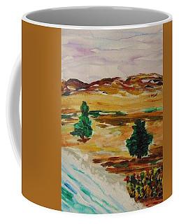 Two Cedars By The Sea Coffee Mug