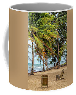 Two Chairs In Belize Coffee Mug