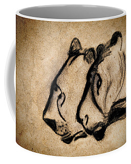 Two Chauvet Cave Lions Coffee Mug