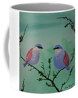 Two Chickadees Coffee Mug