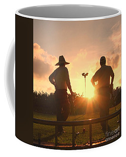 Two Croquet Players Coffee Mug
