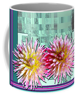Two Dahlias Coffee Mug