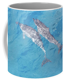 Two Dolphins Coffee Mug