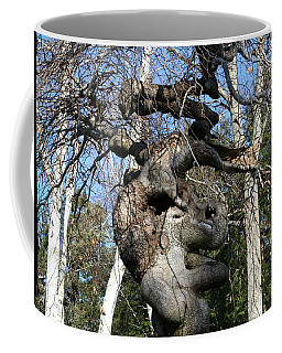Two Elephants In A Tree Coffee Mug