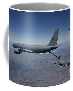 Two F-16 Fighting Falcons Conduct Coffee Mug