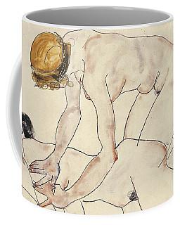 Two Female Nudes Coffee Mug