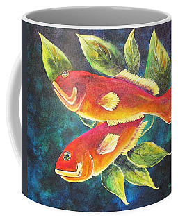Two Fish Coffee Mug