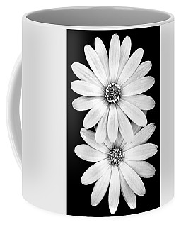 Two Flowers Coffee Mug