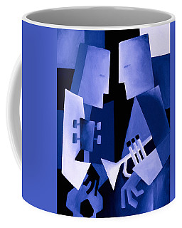 Two For The Blues Coffee Mug