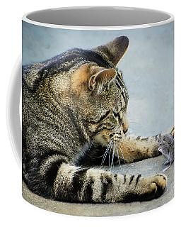 Two Friends Coffee Mug by Mike Ste Marie