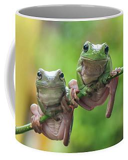 Two Frog Coffee Mug by Riza Arif Pratama