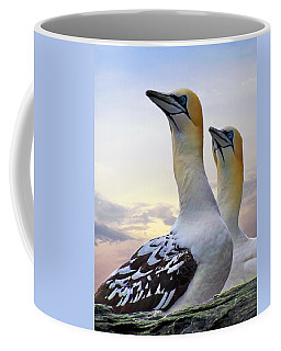 Two Gannets Coffee Mug by Lynn Bolt