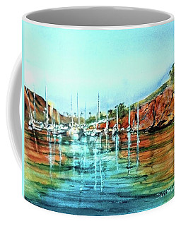 Two Harbors Catalina Morning Impressions Coffee Mug