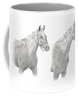 Two Horse Study Coffee Mug