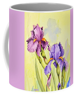 Two Irises  Coffee Mug