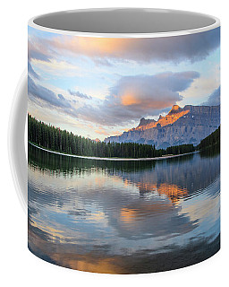 Two Jack Lake, Banff National Park Coffee Mug