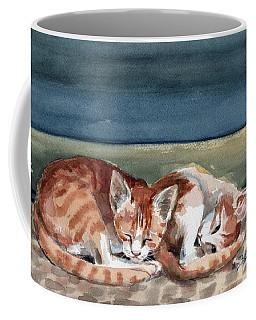 Two Kittens Coffee Mug