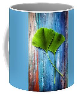 Two Leaves Of Ginkgo Biloba Coffee Mug