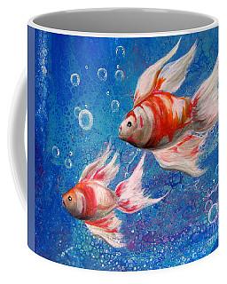 Two Little Fishies Coffee Mug