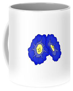 Two Morning Glories Coffee Mug
