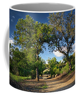 Two Old Oak Trees Coffee Mug by Endre Balogh