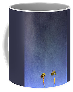 Two Palm Trees- Art By Linda Woods Coffee Mug