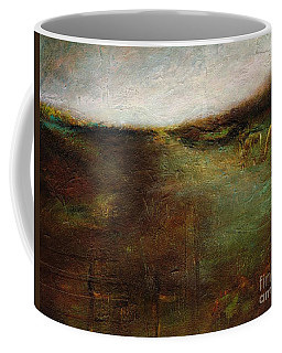 Coffee Mug featuring the painting Two Palominos by Frances Marino