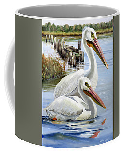 Two Part Harmony Coffee Mug by Phyllis Beiser