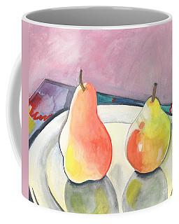 Two Pears Coffee Mug by Helena Tiainen
