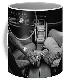 Two People In Love By Michael Grobin Coffee Mug