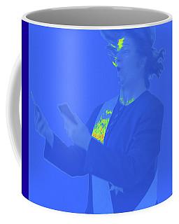 Two Phone Geopolitics Coffee Mug