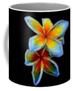 Two Plumerias Coffee Mug