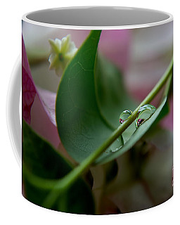 Two Reflecting Drops Coffee Mug