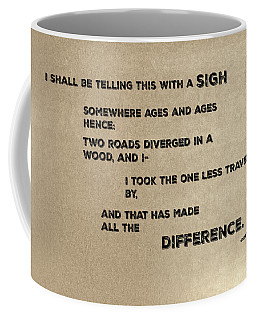 Two Roads #1 Coffee Mug