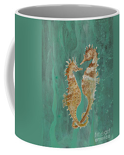 Two Seahorse Lovers Coffee Mug by Robin Maria Pedrero