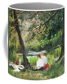 Two Seated Women Coffee Mug