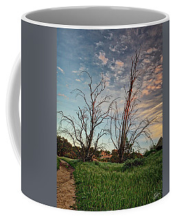 Two Sentinels Coffee Mug by Endre Balogh