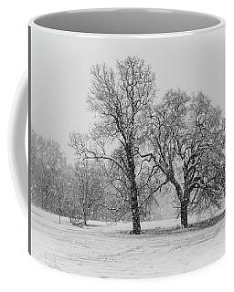 Two Sister Trees Coffee Mug