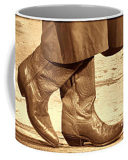 Two Step Coffee Mug by American West Legend By Olivier Le Queinec