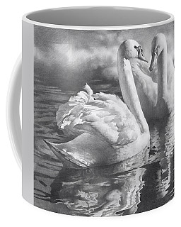 Two Swans Coffee Mug