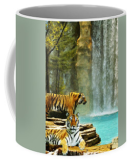 Two Tigers Coffee Mug
