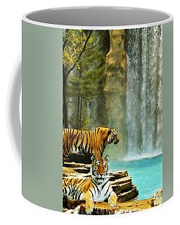 Two Tigers Coffee Mug