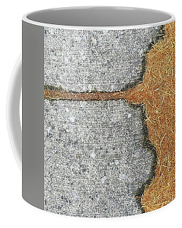 Two-tone. #abstract #minimalism Coffee Mug